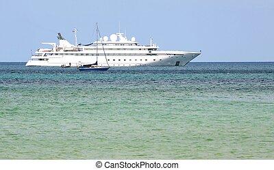 Cruise Ship in the Andaman Sea