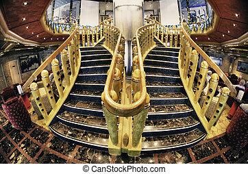 Cruise Ship Interior Design