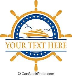 Cruise Ship Logo.