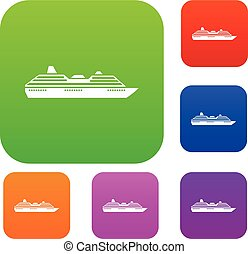 Cruise ship set collection