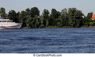 cruise Ship - cruise ship on the River