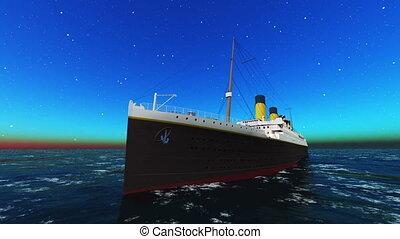 cruise ships - cruise ship goes on voyage