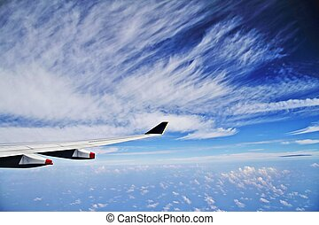 Cruising at 39,000 feet in an Airbus A330-300 of Singapore Airlines. Flight from Singapore Changi Airport to Seoul Incheon International Airport of Korea.