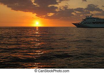 Cruising Into Sunset