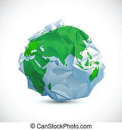 Crumbled Earth