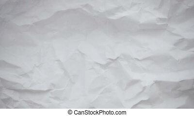 crumpled, лист, paper.