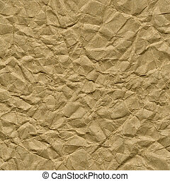 crumpled brown packing paper texture