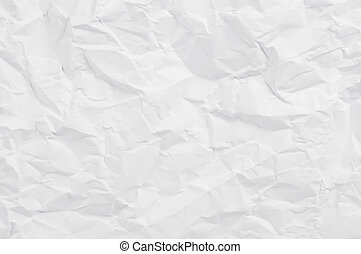 Crumpled paper page. May be used as background