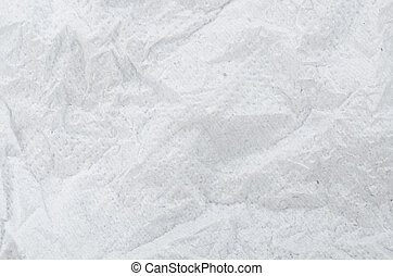 Crumpled tissue paper background texture.