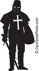 crusader., guerreros, tema