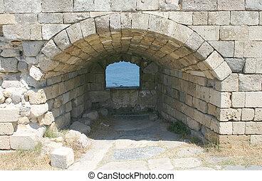 Crusaders castle, Greece