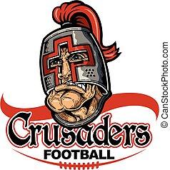 crusaders, football