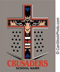 crusaders mascot