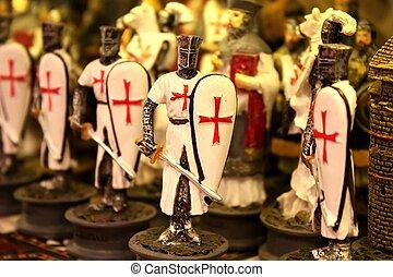Crusaders toy soldiers