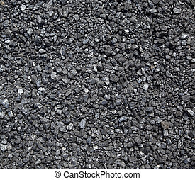 Crushed Coal - Bed of Crushed Coal