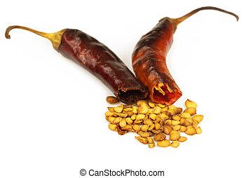 Crushed dried pepper