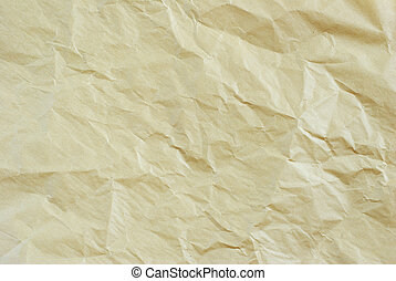 crushed paper - background of the crushed paper