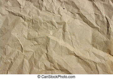 crushed  paper  - the  crushed grunge paper background