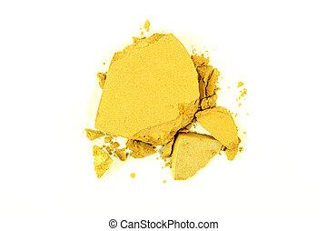 Crushed Yellow Eyeshadow
