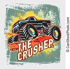 crusher monster truck