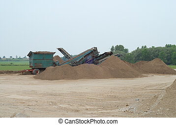 crusher used for grinding stone at quarry in southwestern  Ontario
