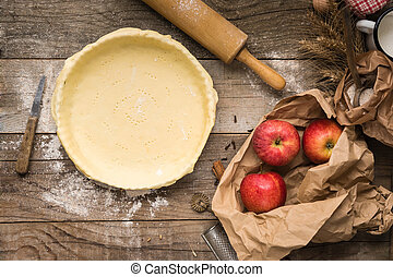 Crust Ready for Apple Pie