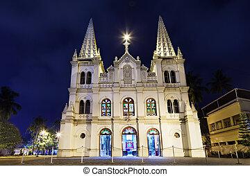 cruz, basilika, santa