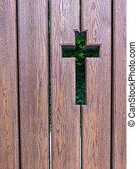 cruz, contorno
