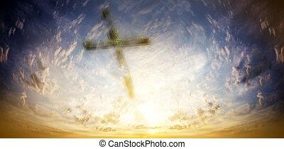 cruz, contra, el, cielo