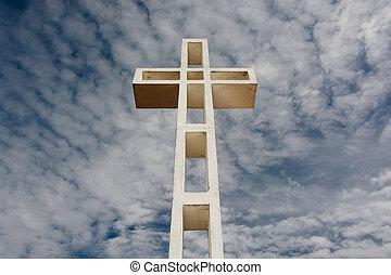 cruz, en, monte, soledad, en, la jolla, california.