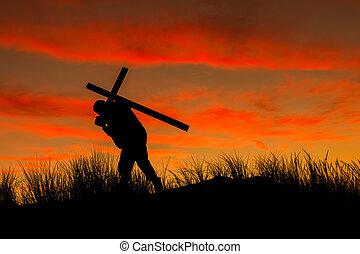 cruz, llevar