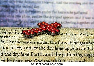 cruz, y, biblia