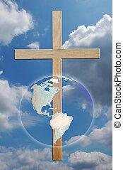 cruz, y, mundo