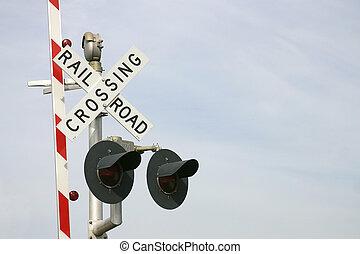 cruzamento estrada ferro