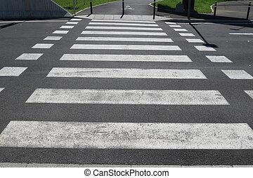cruzamento, peão
