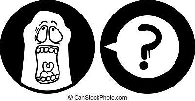 Cry icon - Creative design of cry icon