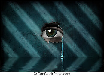 Cry - Tearful eye