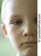 crying boy - angry boy