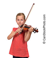 crying girl with violin
