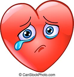 Crying heart