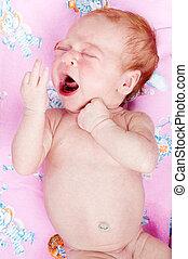 crying newborn baby