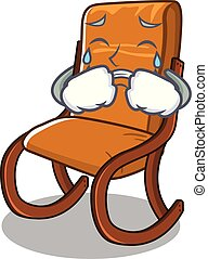 Crying rocking chair in the cartoon shape
