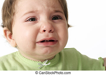 Baby crying - hungry - teething - nappy change - tired - tantrum - sickness