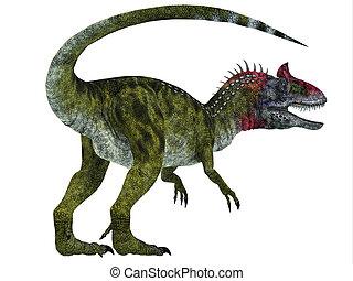 Cryolophosaurus Dinosaur Tail