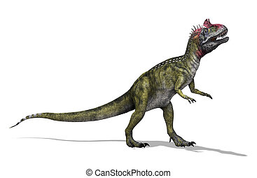Cryolophosaurus - The Cryolophosaurus was a dinosaur that...
