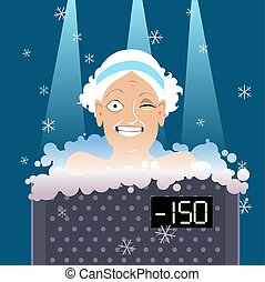 Cryotherapy for seniors