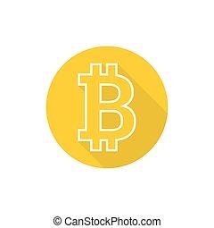 Crypto Bitcoin. - Crypto Bitcoin internet virtual money. ...