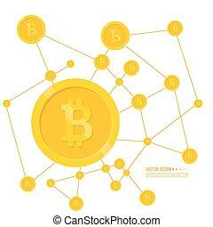 Crypto Bitcoin internet. - Crypto Bitcoin internet virtual ...