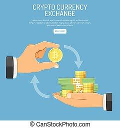 Crypto Bitcoin Technology Concept - Crypto Technology ...
