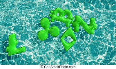 crypto currency signs shaped inflatable swim ring floating...